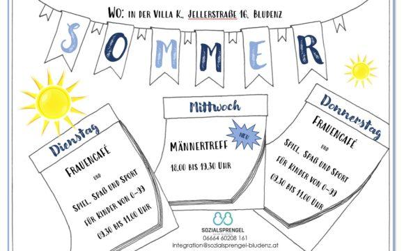 """Sommerprogramm """"da.bei.sein"""""""