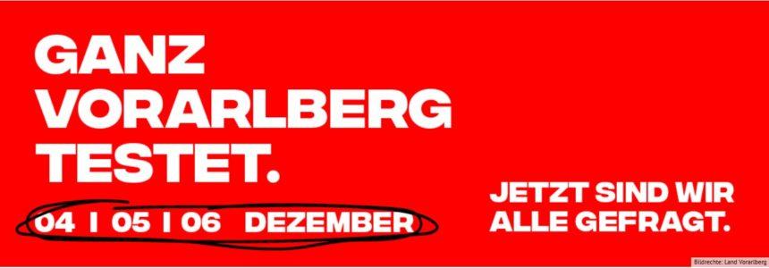 Ganz Vorarlberg testet – (Mehrsprachige) Informationen